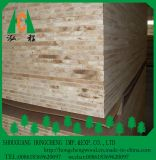 18mmのメラミンペーパーによって薄板にされるベニヤの木製の合板のブロックのボード