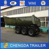 3 Wellen-hinterer Speicherauszug-Kipper-Lastwagen für Verkauf
