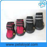 製造業者の防水飼い犬の網の靴、ペットアクセサリ