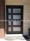 مدخل سكنيّة وحيدة ورقة أمن فولاذ أبواب