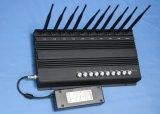 De Stoorzender van de Stoorzender van Cellphone van de Stoorzender van WiFi van de hoge Macht 4G met 10CH