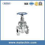 Soupape à vanne de joint d'étanchéité d'acier du carbone de constructeur de la Chine