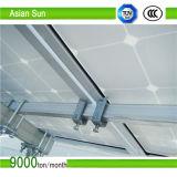 태양계 위원회 장착 브래킷 PV 설치 기와 지붕 훅 중간 죔쇠 끝 죔쇠 부류 직류 전기를 통한 광속