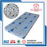 Materasso della gomma piuma di rotolamento di prezzi poco costosi della mobilia della camera da letto singolo