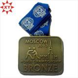 工場カスタム高品質のエナメルの連続したメダル
