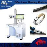Machine de gravure d'inscription de laser de fibre en métal