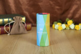 カスタムロゴの別のデザイン高品質のペーパー管かボール紙の円形の花ボックス