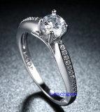 Heet verkoop de Ringen van het Messing van het Zirkoon van Juwelen (R0826)