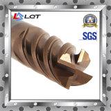 Fresa de acero de alta velocidad Máquina CNC Fresas de carburo indexable