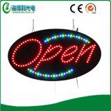최고 밝은 실내 사용 아크릴 열려있는 LED 표시