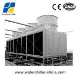 Ausiliaria di plastica efficiente refrigeratore della vite raffreddato alta aria