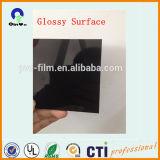 ビニールプラスチック罰金のForstedの堅い無光沢の無光沢の黒PVCシート