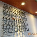 Perforated алюминиевые декоративные панели с ромбической картиной для мастерской Audi