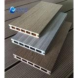 Decking composto plástico de madeira da co-extrusão brandnew, Decking da qualidade comercial, 145 x 22 milímetros
