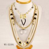 Collier de perle de cinq couches (WX-52191)