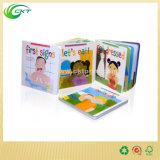 Offsetdrucken-farbenreiches gestempelschnittenes Kind-Buch-/Baby-Kind-Buch des Kind-Vorstand-Book/A5 Papiereinbandes (CKT-BK_005)