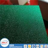 Placa sólida del policarbonato del impacto de la gota del tejado cristalino anti del gránulo