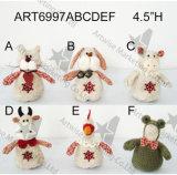 """"""" decoración animal de la Ornamento-Navidad de la Navidad del país de H 4.5"""