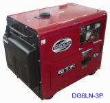 Générateur silencieux diesel avec du CE et l'ISO9001 (DG6LN/4LN)