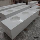 Vanité extérieure solide acrylique en gros de salle de bains