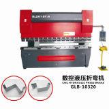 Maquinaria de dobra hidráulica do CNC do freio da imprensa do metal de folha na máquina de dobra