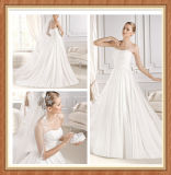 Nouvelles robe de mariage et robe de mariage Chiffon de arrivée