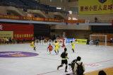Suelo que se enclavija del estadio de la corte de Futsal de la alta calidad y de la competición de alto nivel