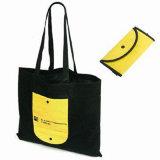 Bon sac à provisions se pliant non tissé de qualité (LJ-NWB23)