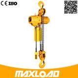 3t - Grúa de cadena eléctrica con gancho de elevación