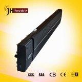 Tecnologia segura Aquecedor radiante infravermelho distante montado na parede com sem ventilador / luz / ruído