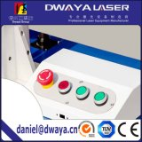 Máquina portable de la marca del laser 50W de los aros del émbolo de alta velocidad