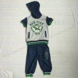 A roupa dos jogos do terno do menino de Summmer na roupa do desgaste das crianças ajusta Sq-6230
