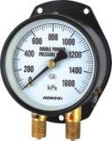 Calibrador de presión de la pipa doble B-0002