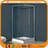مربّعة منخفضة صينية فسحة زجاجيّة وابل حجيرة ([أدل-8037])