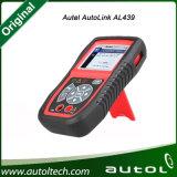 2016 originele Autel Autolink Al439 Obdii & kan de Update van het Hulpmiddel van het Aftasten van de Lezer de Online Meertalige Steun van Autel coderen Al439