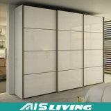 Стеклянный шкаф спальни раздвижной двери (AIS-W024)