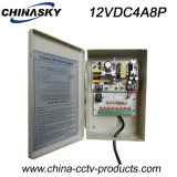 8개의 채널 사진기 전력 공급 배급 상자 CCTV DC (12VDC4A8P)