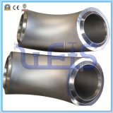 304 codo de la instalación de tuberías de 90 grados