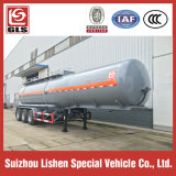 Tank químico Trailer 3 Axles Stainless Steel 36000L Ammonium Hydroxide Water Semi Truck Trailer