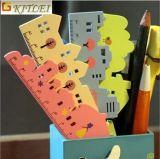 La grille de tabulation de vente chaude que l'élève a spécialisé la grille de tabulation d'échelle a placé la grille de tabulation en plastique de taille de 30cm pour la promotion