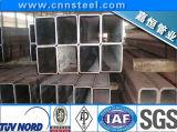 pipe en acier rectangulaire noire de 50mmx30mm