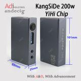 2016 강력한 Kangside 200W Temperature Control Vapor Mod 200W Box Mod