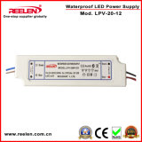 12V 1.67A 20W imperméabilisent IP67 l'alimentation d'énergie constante de la tension LED