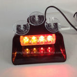 4W LED Dash Light con Suction Cups