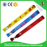 Wristband tessuto ricordo artificiale diretto di concerto della fabbrica per i ventilatori