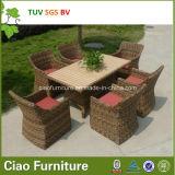 Luxuxim freienmöbel-Hotel-Weidengarten-Rattan-Tisch und Stuhl