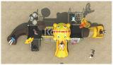 Campo da giuoco esterno della caratteristica di Kaiqi delle attrazioni dei bambini favoriti animali di formato medio