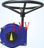 El actuador de la válvula funcionado Pieza-Da vuelta a la caja de engranajes del gusano
