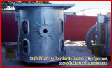 250kg Coreless Frequency Induction Melting Furnace para Melt Steel, Iron, Stainless Steel, Copper, Bronze, Brass, Silver, Gold, e Other Alloy