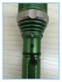 Indicatore luminoso ricaricabile verde portatile luminoso multifunzionale della torcia
